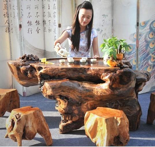 新挖树根做根雕如何处理