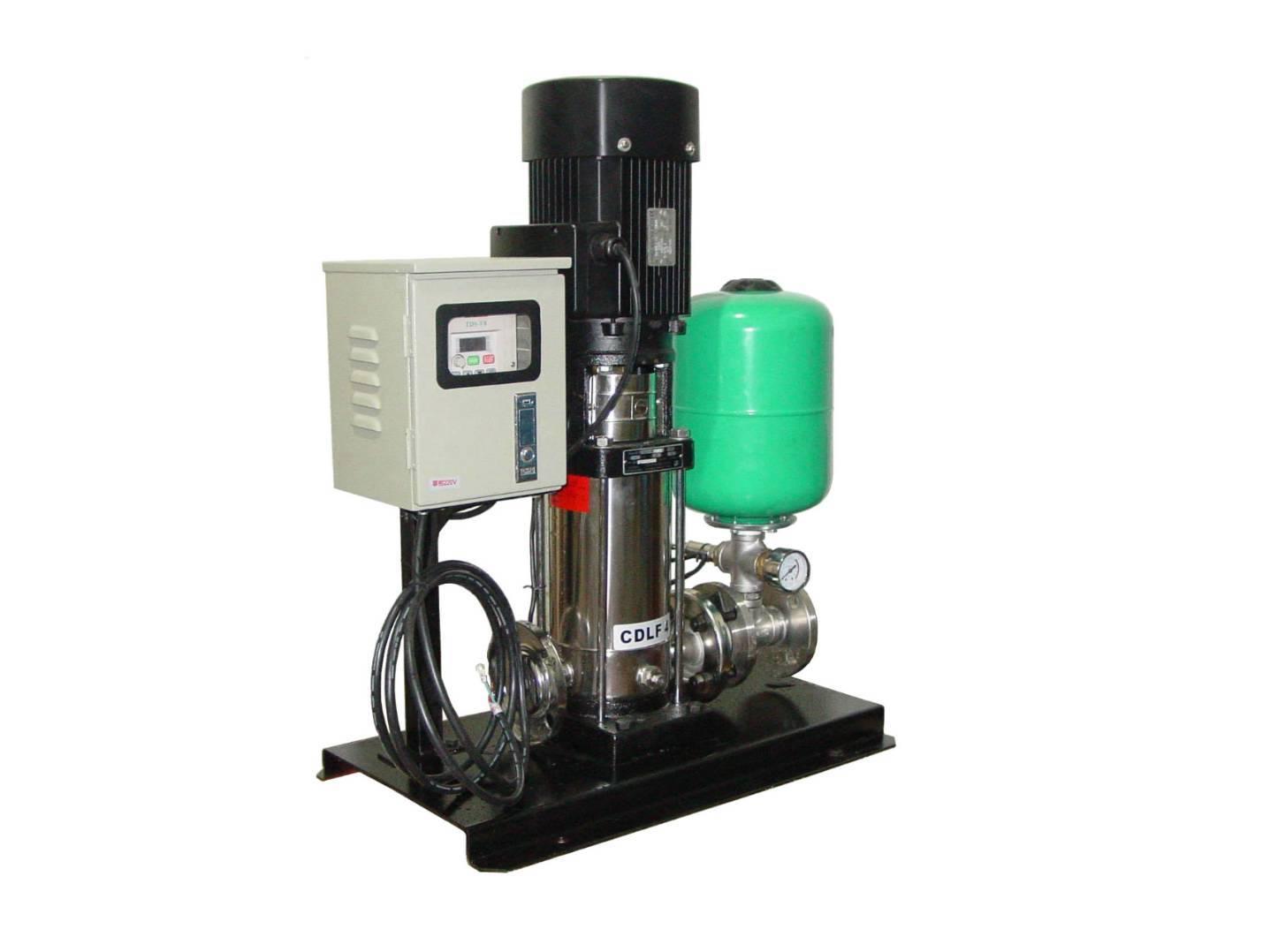 变频水泵适用于城乡供水,农业灌溉等 结构: 变频水泵由变频器(内含
