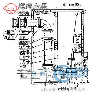 控制污水泵水漂接线图
