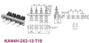 大电流电源开关KAN4H-2X2-12-T18