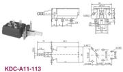 大电流电源开关KDC-A11-113