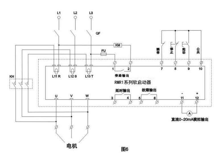 rmr1系列软启动规格型号--上海上联厂家 控制原理-rmr1-700软启动器