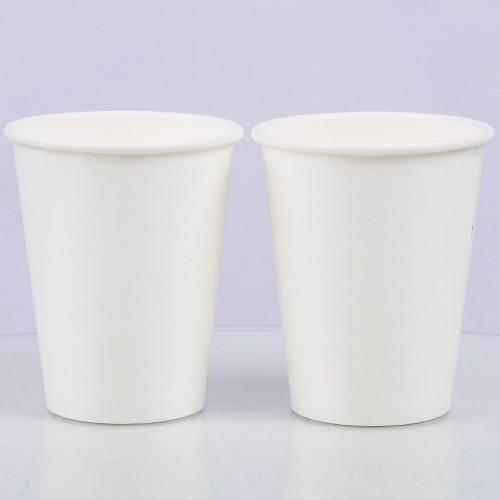 批发12oz空白一次性纸杯 可定制彩印 奶茶杯 咖啡杯