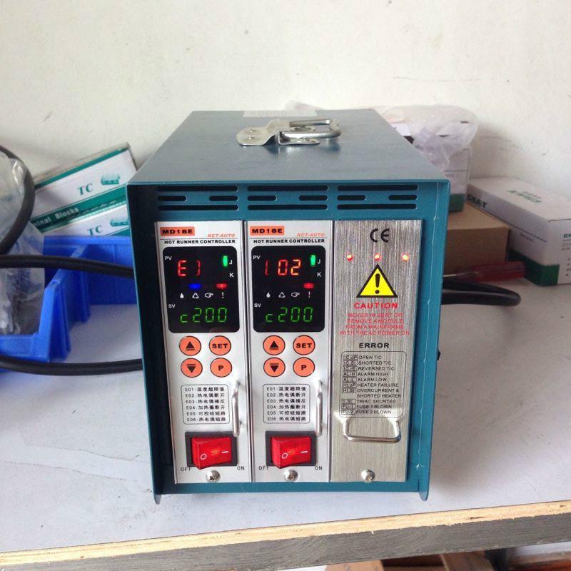 模具热流道温控箱配件2组智能温控表md18e