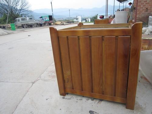 大量低价供应方形木制花箱