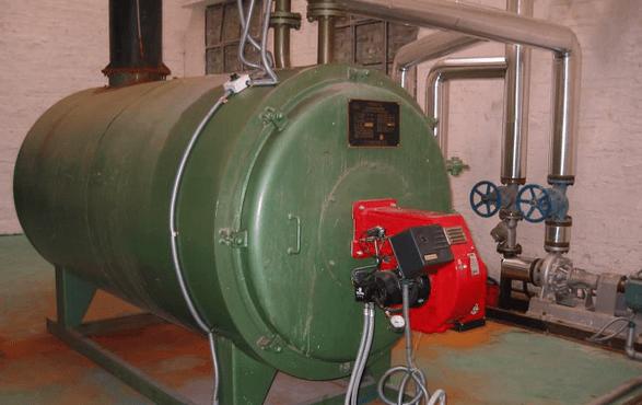 燃油蒸汽锅炉暖管方法
