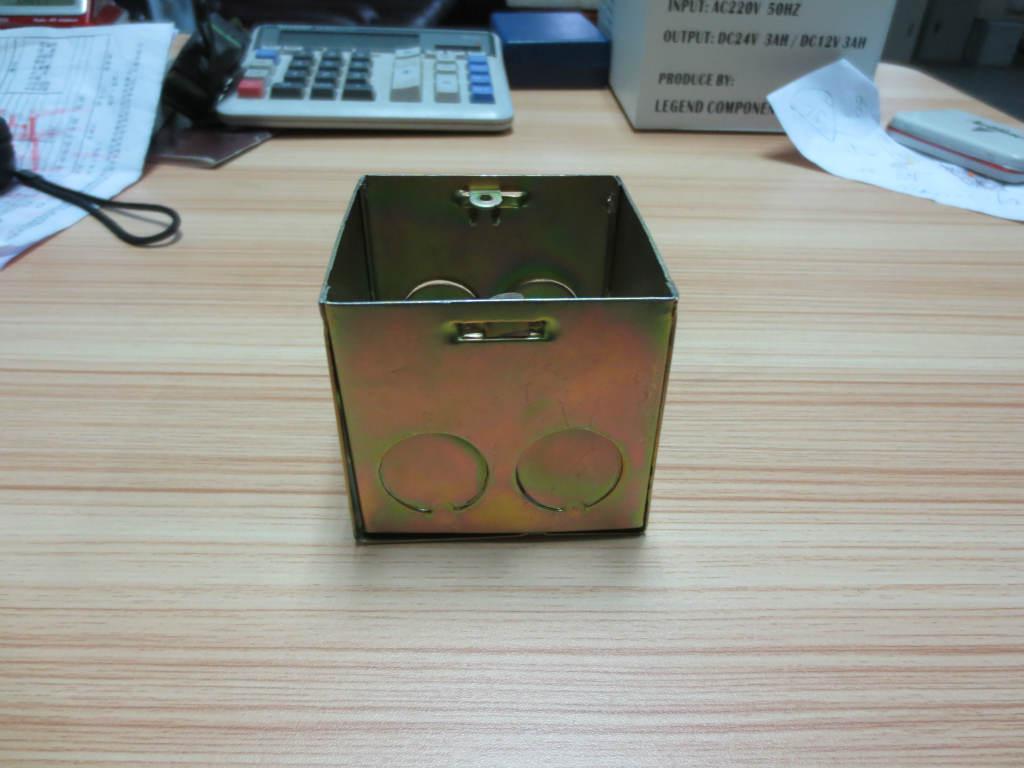 接线盒 镀锌接线盒 86接线盒 金属接线盒
