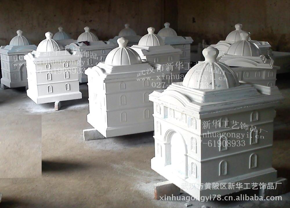 grc水泥棺椁模具 水泥套棺 玻璃钢模具 硅胶模具