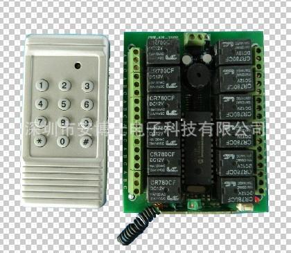 琛达遥控器厂家低价出售12v两路遥控开关 点动 非锁 自锁型