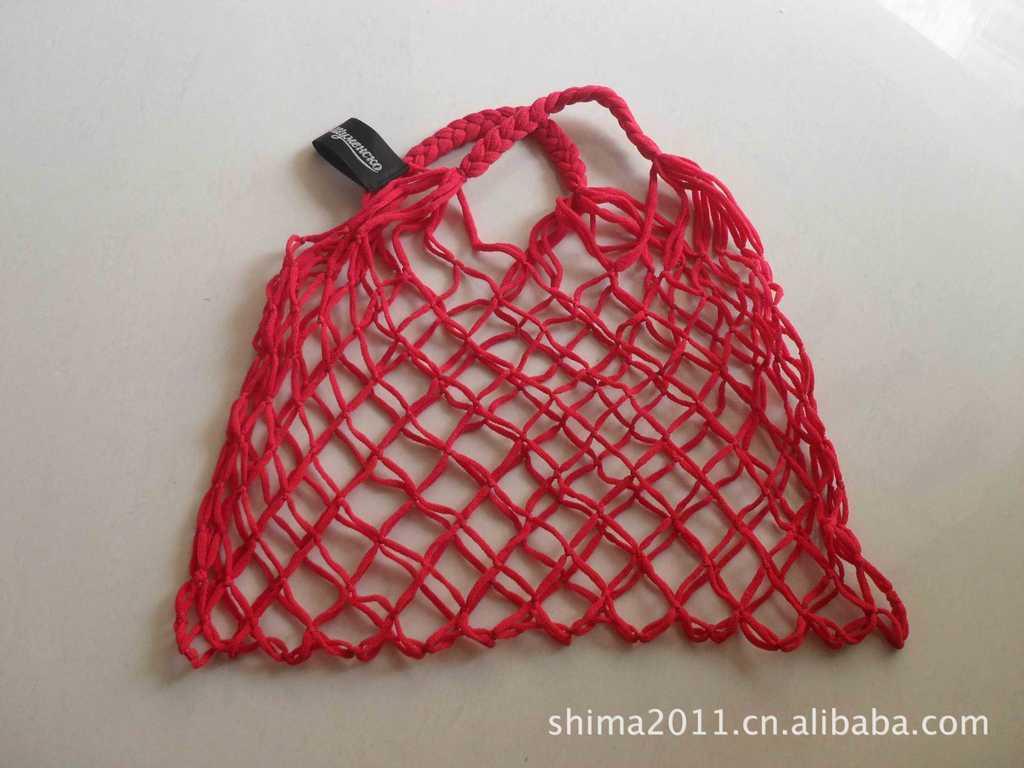 渔网针帽子的织法图解