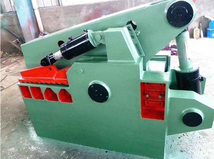 宇科q43-160t鳄鱼式液压剪切机图片