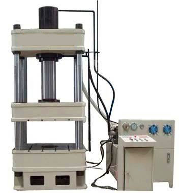 150t三梁四柱液压机图片