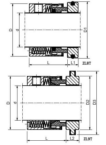 3-14车载式液压升降台    轴径尺寸: 0.750 ~ 4.图片