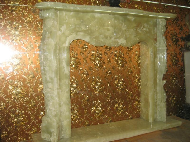 欧式大理石雕刻壁炉架
